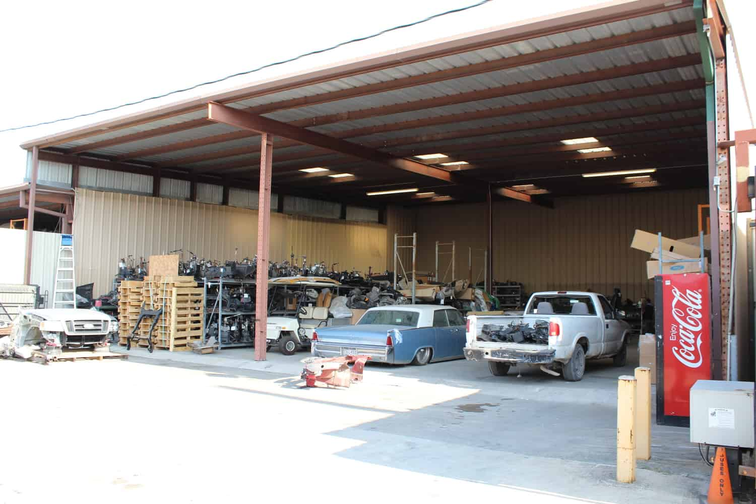 Save money on auto repairs with our Houston junkyard